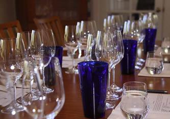 glasses for seated tasting